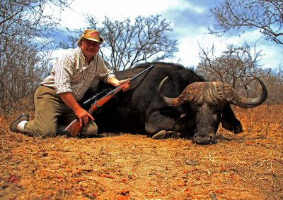 Caliber to hunt Cape buffalo