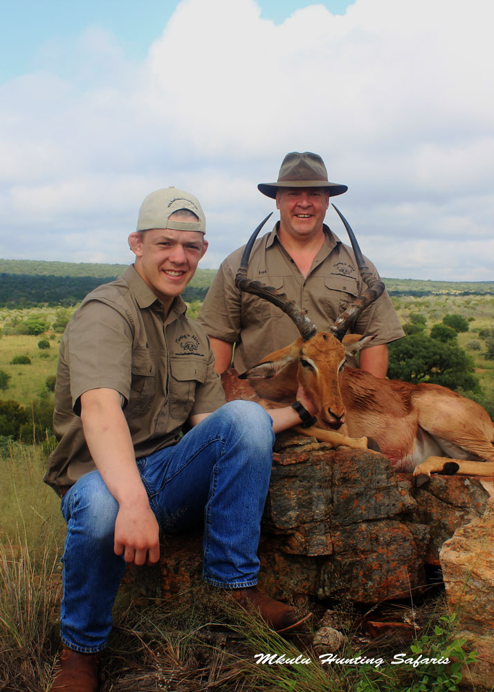 Hunting in North West impala