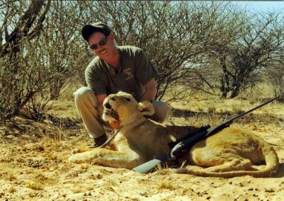 Hunting lioness South Africa prices