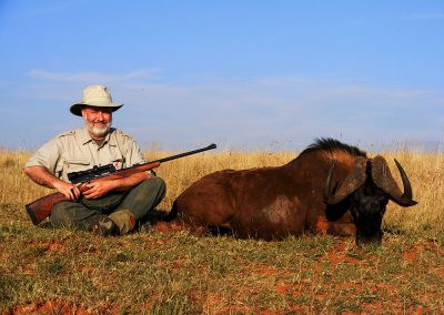 Ultimate African hunting package black wildebeest