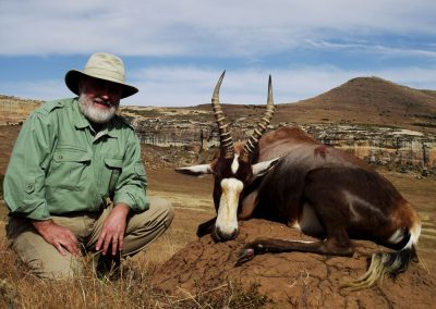 Ultimate African hunting package blesbok