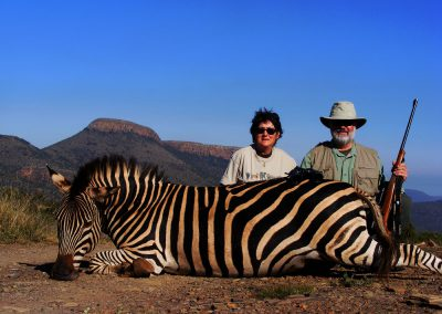 Ultimate African hunting package zebra