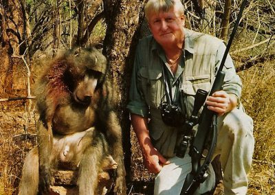 Baboon hunting in South Africa