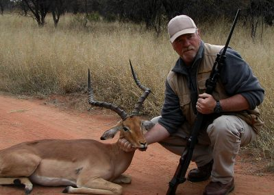 Hunting impala South Africa