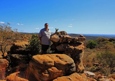 Hunting klipspringer South Africa