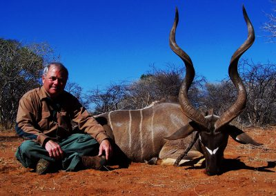Hunting kudu in Africa