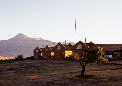 Hunting lodge accommodation Free State South Africa