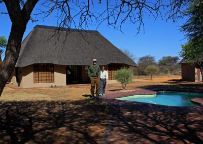 Hunting lodge in North West Province South Africa