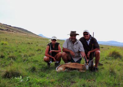Hunting springbuck South Africa