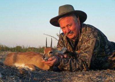 Hunting steenbok in South Africa
