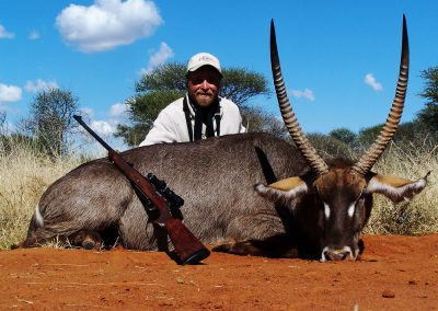 Hunting waterbuck South Africa