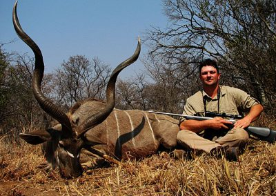 Kudu hunting in Africa