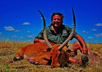 Red lechwe hunting in South Africa