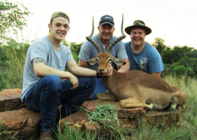 Hunting impala North West South Africa