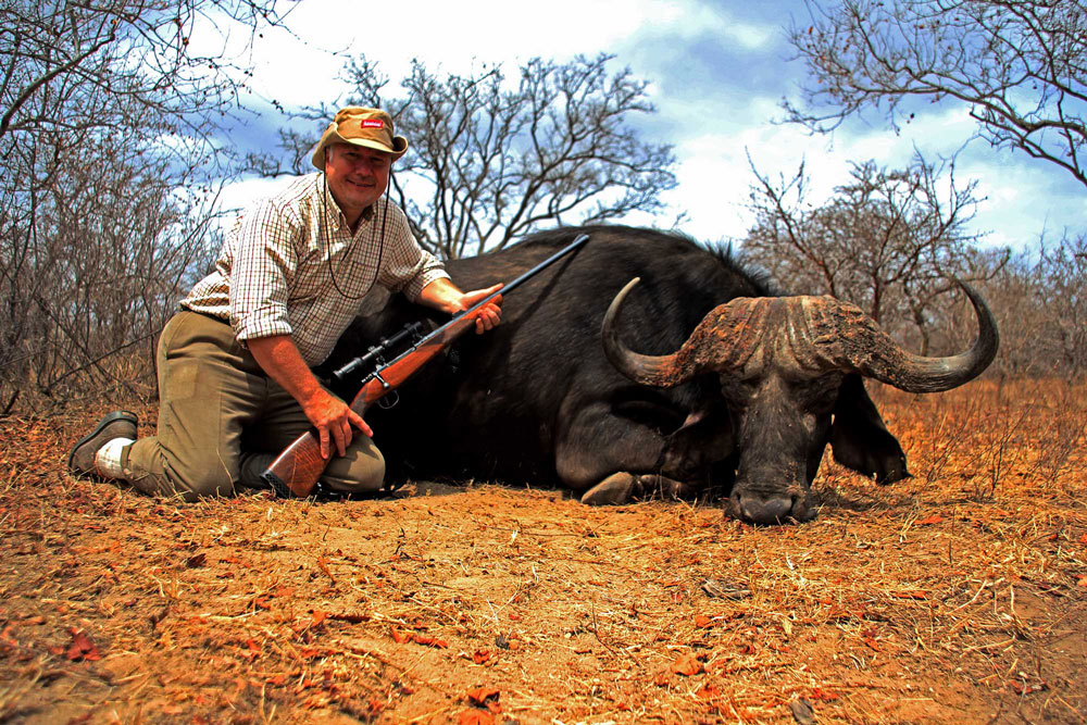 Hunting trophy animals of Africa.