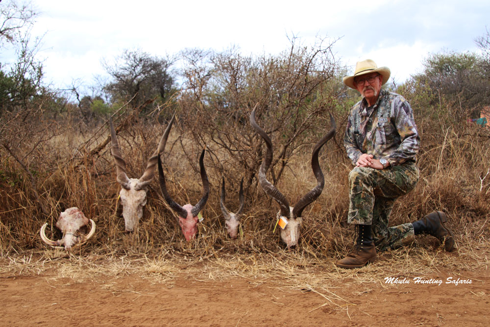 Bow hunting trophies South Africa