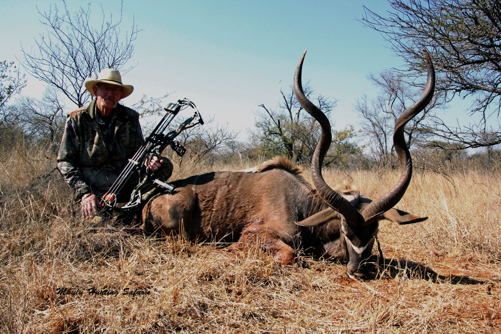 Bowhunting kudu South Africa Hoyt bow