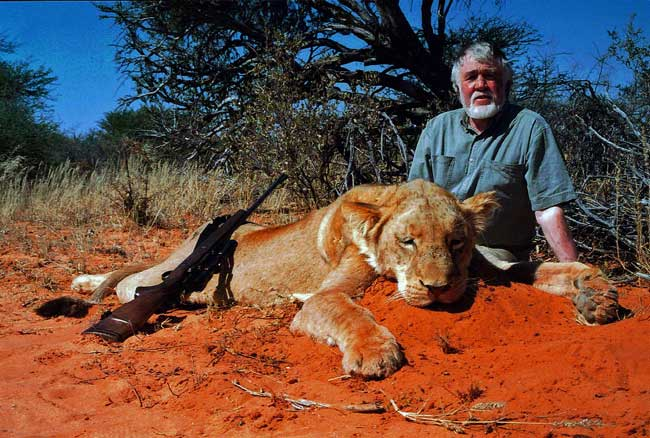 Lioness hunting packages South Africa