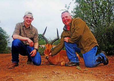 Father and son hunting africa price