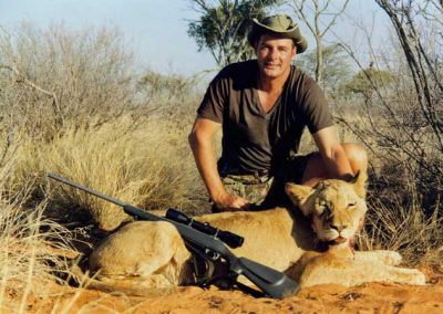Lioness hunting packages Africa