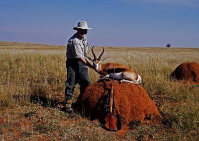 Ultimate African hunting package springbok