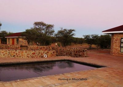Accommodation hunting lodge North West