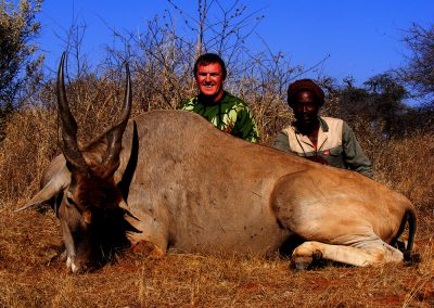 Best caliber for hunting eland