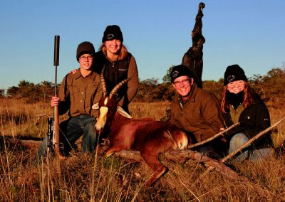Blesbok hunting Free State