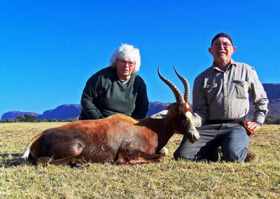 Blesbok hunting prices