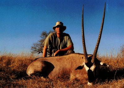 Caliber for gemsbok hunting