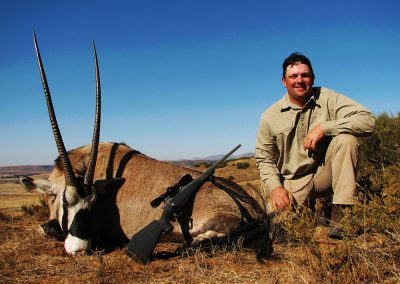 Gemsbok hunting prices