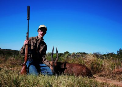 Hunting bushbuck Eastern Cape South Africa
