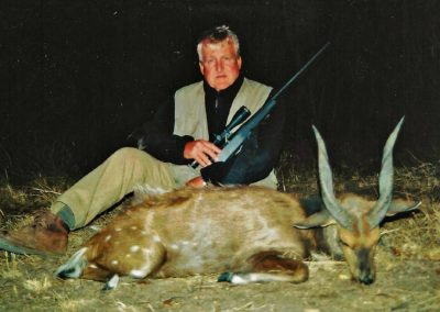 Hunting bushbuck in South Africa