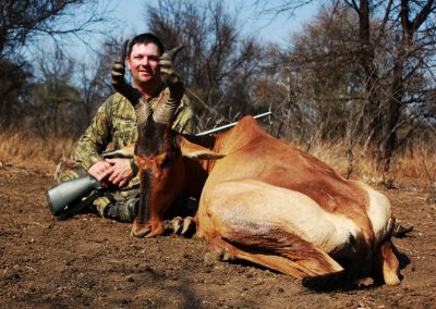 Hunting red hartebeest prices
