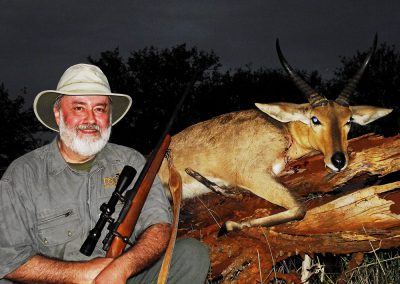 Hunting reedbuck South Africa