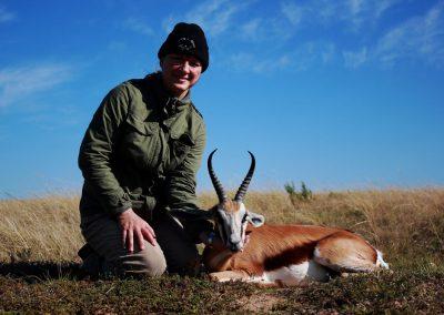 Hunting springbok in Eastern Cape