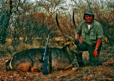 Hunting waterbuck best caliber