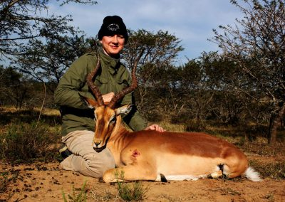 Impala hunting caliber and cost