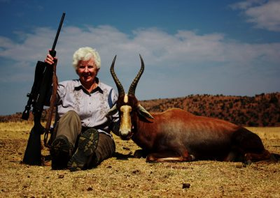 Ladies hunting blesbuck South Africa