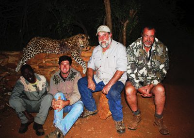 Leopard hunting in South Africa
