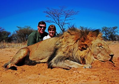 Lion hunting safari packages
