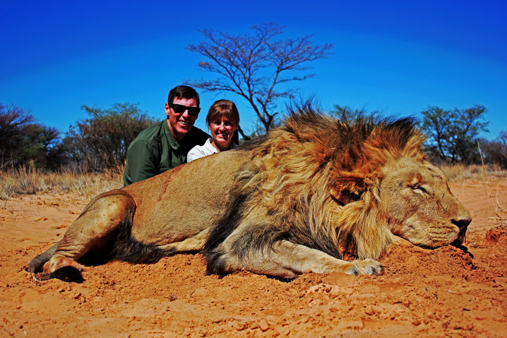 African lion hunting safari packages South Africa