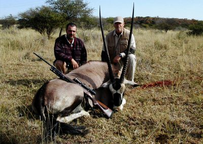 Oryx hunting in South Africa