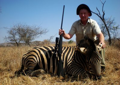 Zebra hunting caliber