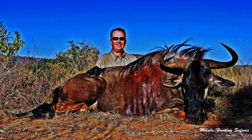 First Timer African hunting package