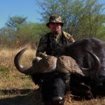 Bow hunting Cape buffalo Africa