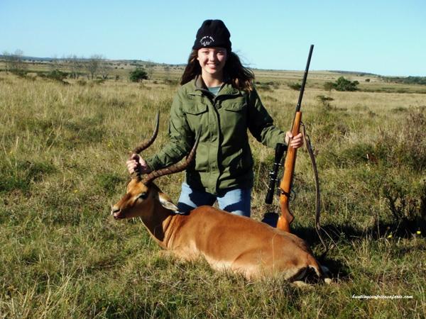 Impala hunt South Africa