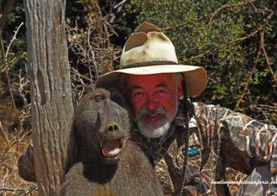 Baboon hunting safari South Africa